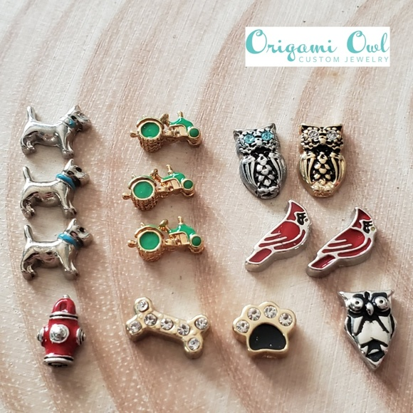 NEW /& Retired Authentic Origami Owl Charms